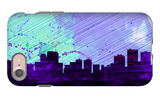 Anchorage City Skyline iPhone 7 Case by  NaxArt