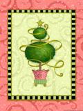 Holiday Tree 1 Premium Giclee Print by Viv Eisner