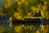 Fall at the Lake Photographic Print by Sally Linden