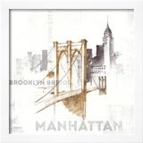 Brooklyn Bridge Poster by Avery Tillmon