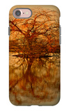 Golden Tree iPhone 7 Case by Philippe Sainte-Laudy