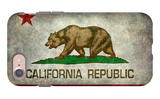 California State Flag With Distressed Treatment iPhone 7 Case by Bruce stanfield