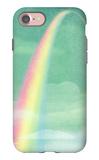 Rainbow in Bright Sky iPhone 7 Case