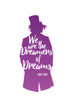 Dreamers Of Dreams (Purple Silhouette) Posters