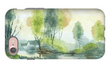 Country House and River iPhone 7 Case