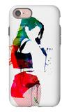 Iggy Watercolor iPhone 7 Case by Lora Feldman