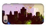 Salt Lake City Skyline iPhone 7 Case by  NaxArt