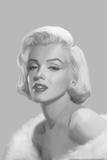 True Blue Marilyn Posters