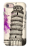 Tower of Pisa in Pen iPhone 7 Case by Morgan Yamada