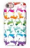 Sunset Kittens iPhone 7 Case by  Avalisa