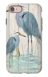 Blue Heron Duo iPhone 7 Case by Arnie Fisk