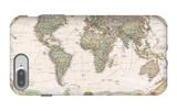 Mapa político del mundo, estilo ejecutivo iPhone 7 Plus Case por National Geographic Maps