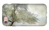 Tree in Field of Flowers iPhone 7 Case by Mia Friedrich