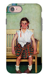 """Shiner"" or ""Outside the Principal's Office"", May 23,1953 iPhone 7 Case by Norman Rockwell"