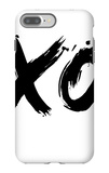 XO White iPhone 7 Plus Case by  NaxArt