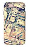 Raster Seamless Texture iPhone 7 Case by Alexandra Khrobostova