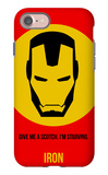 Iron Poster 1 iPhone 7 Case by Anna Malkin