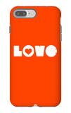 Love Orange iPhone 7 Plus Case by  NaxArt