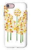 Orange Alliums iPhone 7 Case by  Avalisa