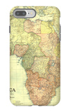 1922 Africa Map with portions of Europe and Asia iPhone 7 Plus Case by  National Geographic Maps
