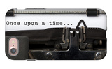 """Words """"Once Upon A Time"""" Written With Old Typewriter iPhone 7 Case by  foodbytes"""