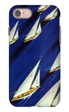 """Sailboat Regatta,"" June 29, 1940 iPhone 7 Case by Ski Weld"