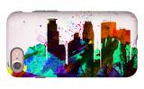 Minneapolis City Skyline iPhone 7 Case by  NaxArt