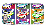 Las Vegas, Nevada - Welcome Sign Pop Art iPhone 7 Case by  Lantern Press
