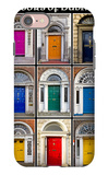 The Old Georgian Doors Of Dublin iPhone 7 Case by Domenico Matteo