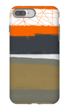 Abstract Orange 1 iPhone 7 Plus Case by  NaxArt