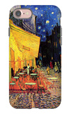 The Cafe Terrace on the Place Du Forum Arles at Night iPhone 7 Case by Vincent van Gogh