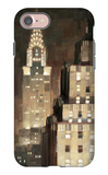 Manhattan Aglow iPhone 7 Case by Paulo Romero