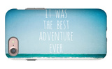 It Was the Best Adventure Ever iPhone 7 Case by Susannah Tucker
