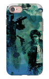 Star Warriors Watercolor 2 iPhone 7 Case by Anna Malkin