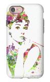 Audrey Hepburn 2 iPhone 7 Case by  NaxArt