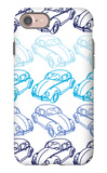 Blue Bug iPhone 7 Case by  Avalisa