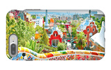 The Famous Summer Park Guell Over Bright Blue Sky In Barcelona, Spain iPhone 7 Plus Case by  Vladitto