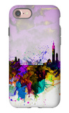 Taipei Watercolor Skyline iPhone 7 Case by  NaxArt