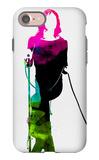 Mick Watercolor iPhone 7 Case by Lora Feldman