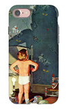 """Big Shadow, Little Boy,"" October 22, 1960 iPhone 7 Case by Richard Sargent"