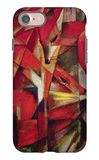The Foxes iPhone 7 Case by Franz Marc