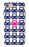 Pink Parking Lot iPhone 7 Case by  Avalisa