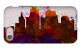 Kansas City Skyline iPhone 7 Case by  NaxArt
