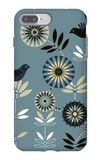 Graphic Birds and Flowers iPhone 7 Plus Case