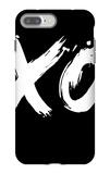 XO Black iPhone 7 Plus Case by  NaxArt