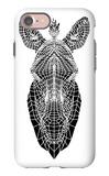 White Zebra Mesh iPhone 7 Case by Lisa Kroll