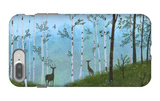 Two Deer on Forest Path iPhone 7 Plus Case