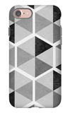 Gray Pattern I iPhone 7 Case