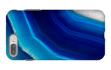 The Background of Blue Agate Crystal iPhone 7 Plus Case by  Wlad74
