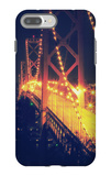 Vintage Bay Bridge Scene iPhone 7 Plus Case by Vincent James